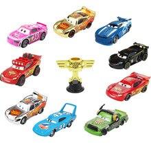 Disney Pixar Autos 2 3 Blitz McQueen Kolben Tasse 1:55 Vehical Modell Auto Spielzeug Neue Jahr Geschenk für Kinder