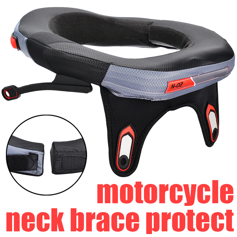 Universel 1PC support de cou de moto Protection légère Protection de cou de Motocross adultes Ski Skate cou