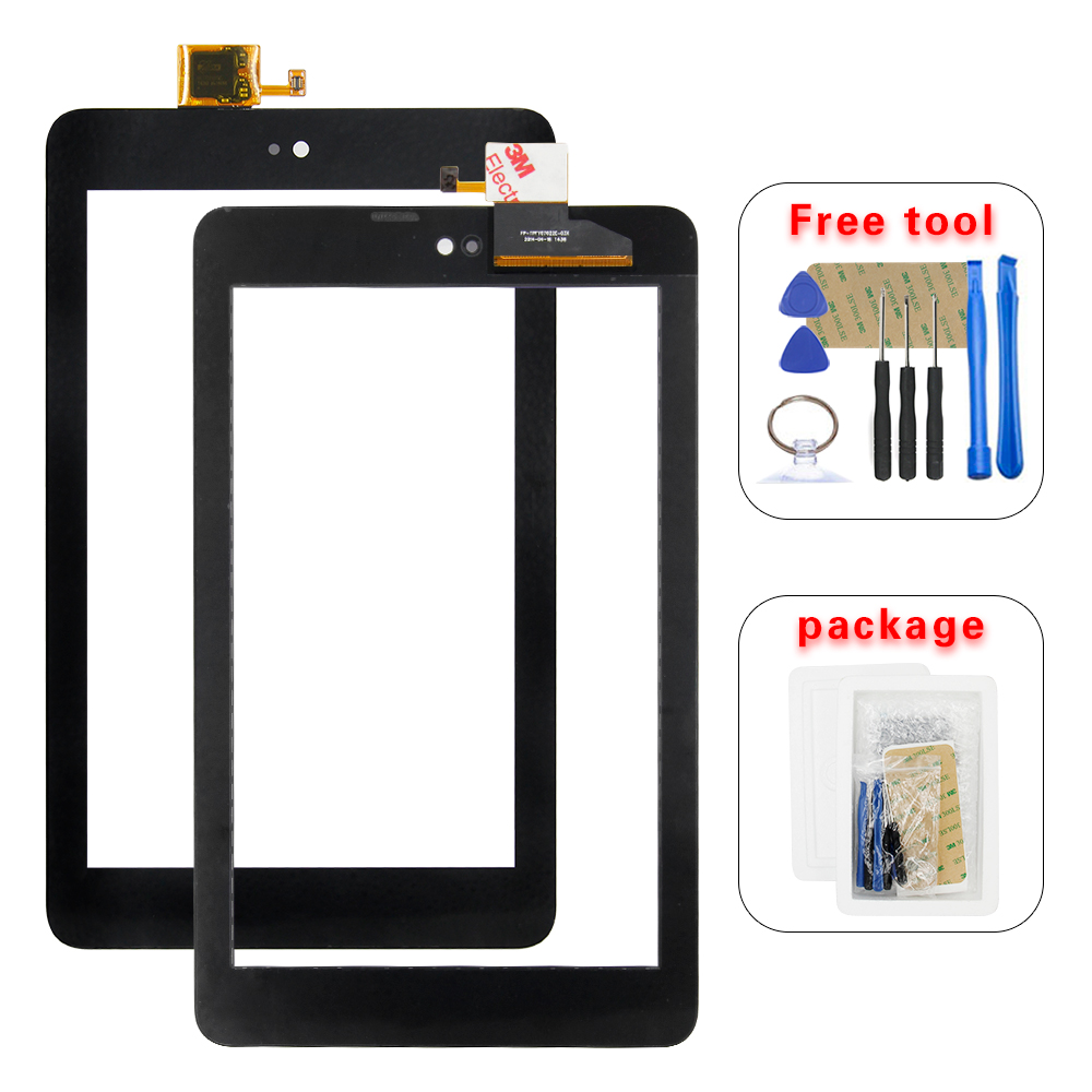 100% Test For Dell T01C Venue 7 3730 3740 Front Touch Screen Digitizer Panel Glass Sensor