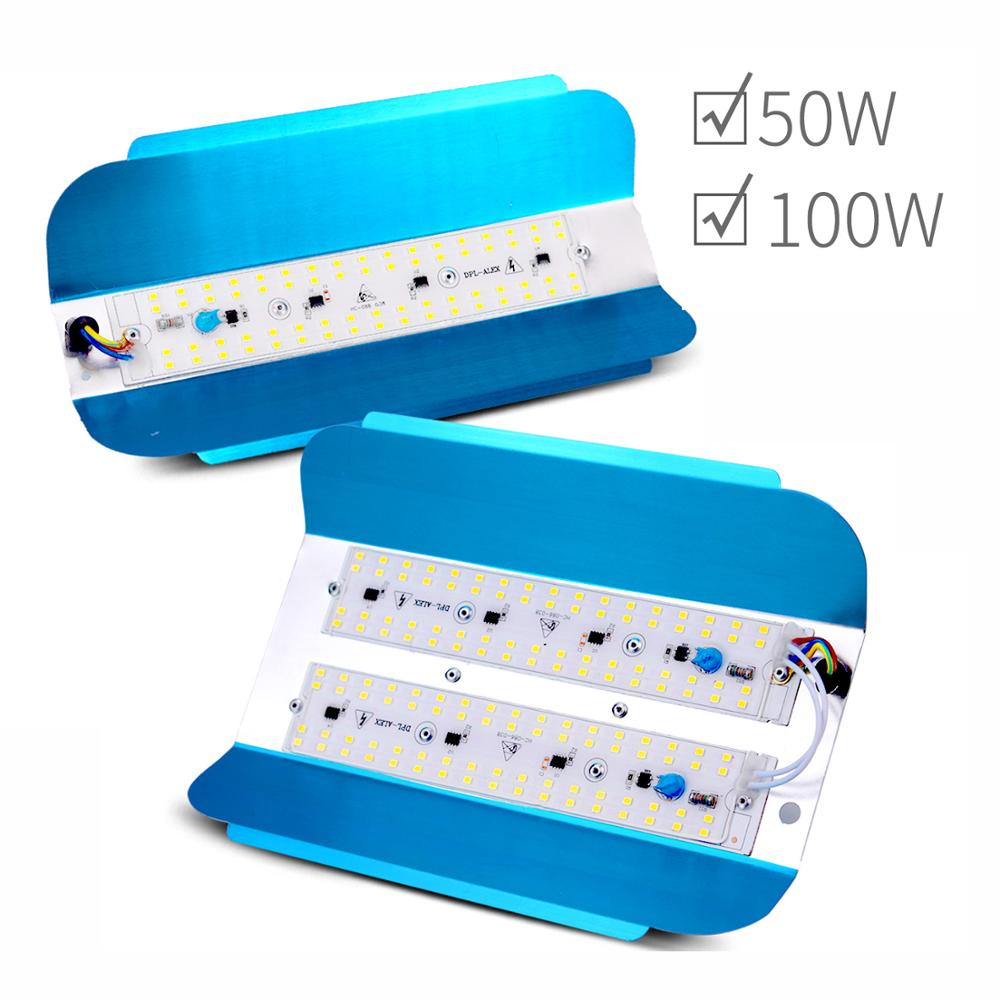 Borbede LED Light 50 W / 100 W / 220 V For Indoor / Outdoor / Construction Site / Greenhouse Area Requiring Lighting
