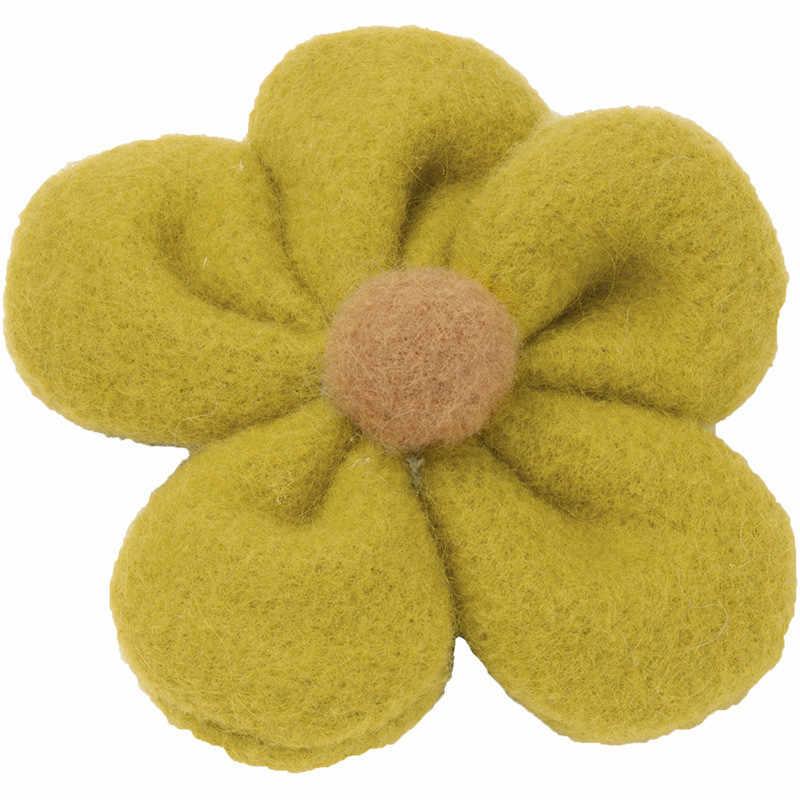 Haar Zubehör Frauen Gummi Bands BB Clip Blume Form Mädchen Süße Elastische Haar Bands Weibliche Damen Headwear Pferdeschwanz Halter