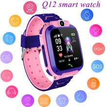 الاطفال GPS ساعة ذكية للبنين ووتش الفتاة ووتش متعددة الوظائف الأطفال الرقمية ساعة اليد ساعة ذكية لتتبع الأطفال الهاتف ل IOS الروبوت الاطفال