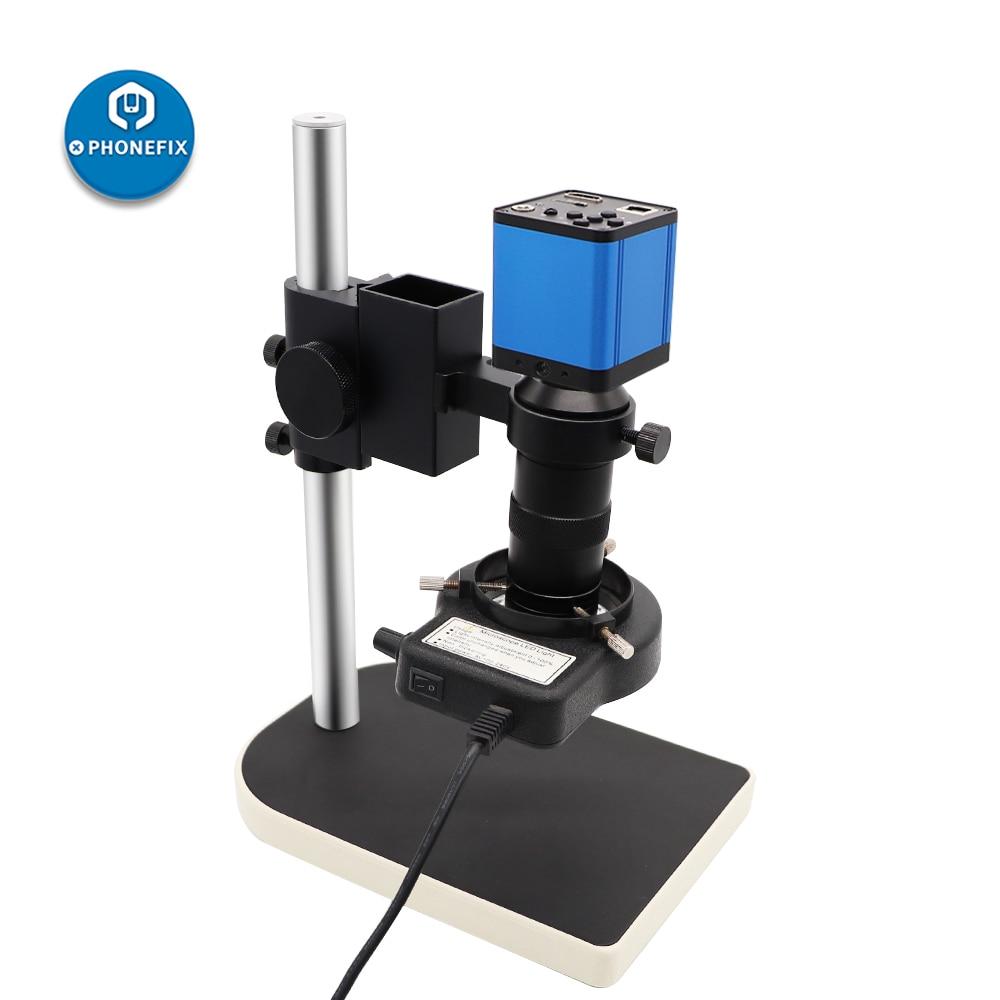 digital suporte pequeno microscópio conjunto 180x c-montagem