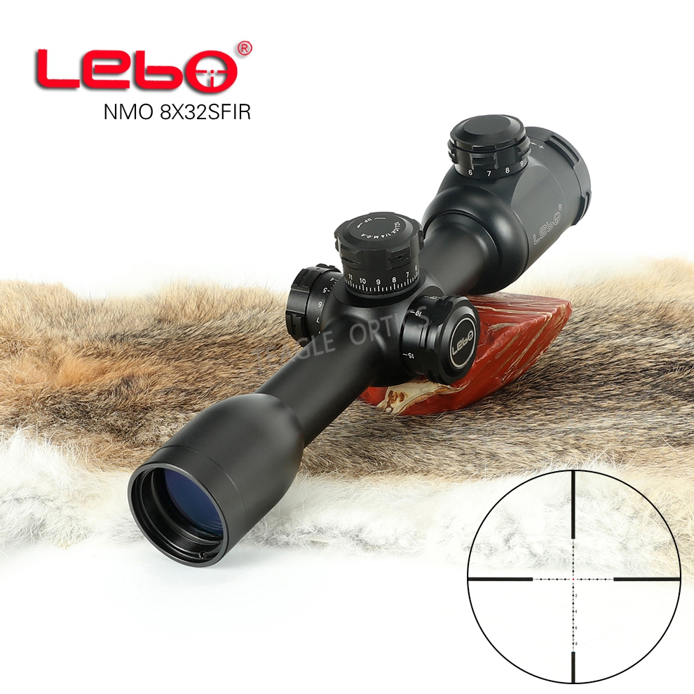 Hunting Riflescope Optical Sight 8X32 SF Tactical Riflescope With Mil Dot Reticle With Illumination Rifle Scope