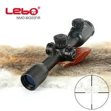 Hunting Riflescope Optical Sight 8X32 SF Tactical Riflescope with Mil Dot Reticle with Illumination Rifle scope цена и фото