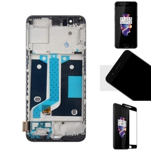 LCD Display Contact Screen TFT Digitizer Assembly Replacement for 5.5Inch Oneplus 5 1+5 A5000 with Frame