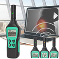 Ручной тестер электромагнитного поля цифровой ЖК-дисплей EMF метр тестер электромагнитного излучения с подсветкой фонарик
