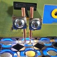 Aletler'ten Gaz Kaynak Ekipmanları'de 4 adet lehim Pin nokta kaynakçı kaynak sabit bakır iğne kullanılan 737G 787A 788H 709A 709Ad 797Dh nokta kaynak makinesi
