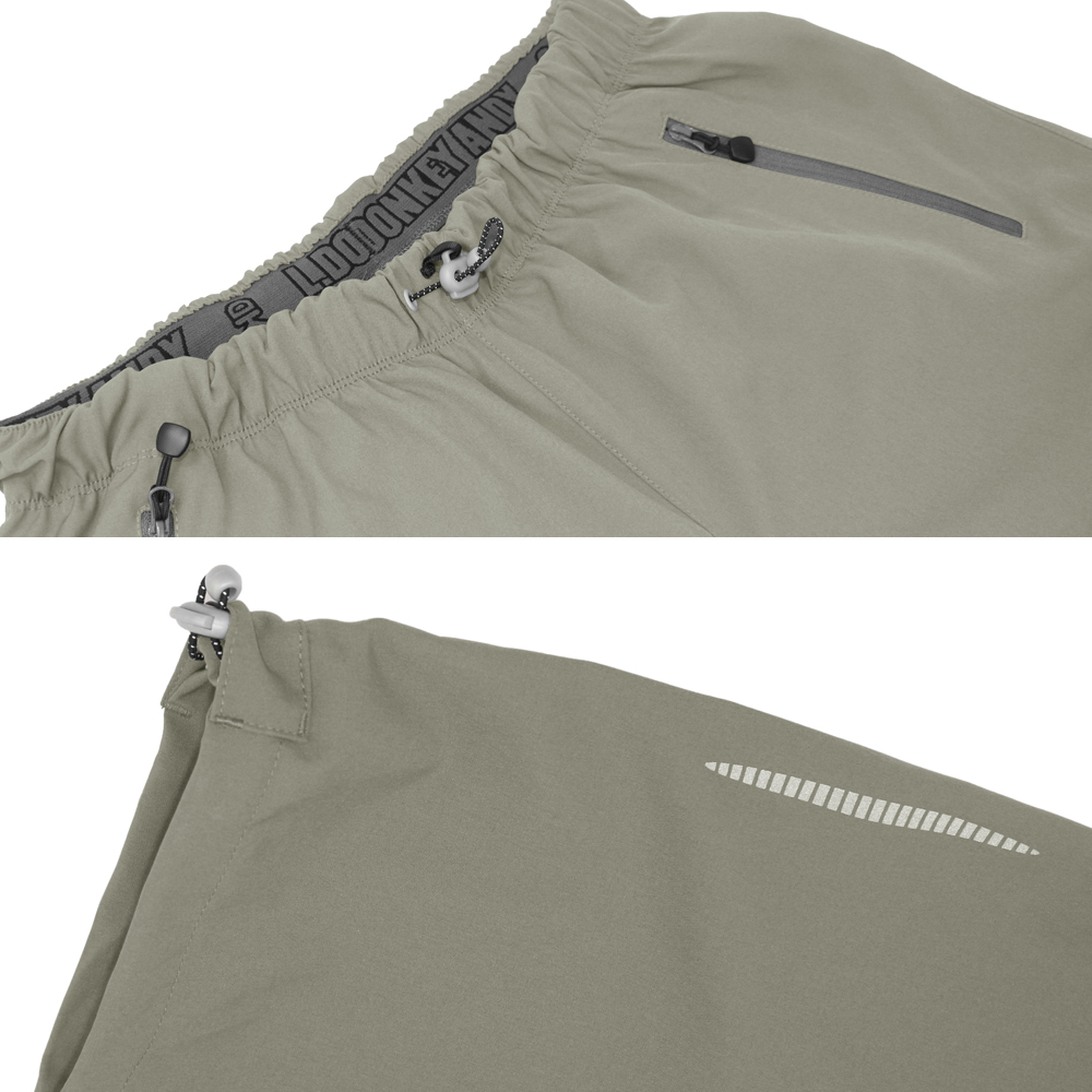 Zipper Pocket Quick-Dry Relaxed-Fit Essentials Outdoor Shorts Breathable Gore-Trousers Casual Pants Shorts for Men