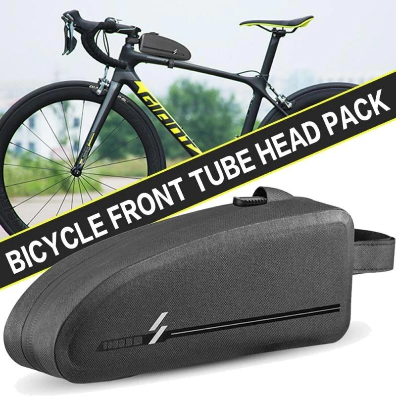 Waterproof Cycling Frame Bag Bicycle Top Tube Bike Capacity Large Bags C3I0