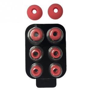 Image 4 - 4 زوج/مجموعة في الأذن الضوضاء معزولة لينة مكافحة زلة سماعات الأذن القابلة للإزالة تلميح مع صندوق سيليكون قطع الغيار ل يدق Power3