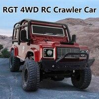 RGT-coche teledirigido RC 136240 V2 1/24 2,4G 4WD 15 km/h, coche todoterreno Rock Crawler, Buggy, vehículo de carretera en miniatura, juguetes para niños, regalos