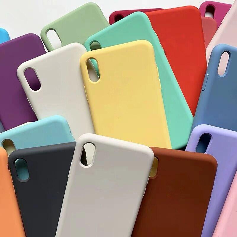 Официальный Оригинальный чехол для iPhone 7 8 Plus 6 6s X SE 2020, чехол для Apple iPhone 11 12 Pro Max XS XR, чехол с полным покрытием