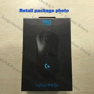 Image 5 - Logitech G PRO bezprzewodowa mysz do gier podwójny tryb RGB z czujnikiem HERO 16K DPI LIGHTSPEED laserowa mysz dla graczy POWERPLAY kompatybilna