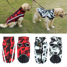 Dog Clothes Thicken Winter Warm Cotton Puppy Waterproof Pet Coat Jacket For Small Dogs Dog Jumpsuit Chihuahua Clothing Overalls hipidog sheep pattern coral velvet parkas pet dog pants autumn winter thicken warm jumpsuit for chihuahua small dogs cat clothes