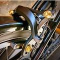 Vouwfiets rem klem titanium schroef voor brompton fiets V rem upgrade bolt TI gold titanium zwart