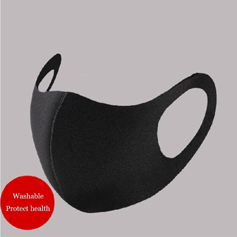 3D MASK Pm2 5 Face Masks Black Facemask Mouthmask Anti Virus Anti pollution Dust Antivirus Mask Innrech Market.com