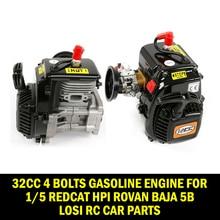 Rovan Gasoline Truck 32CC 4 Bolts Gasoline Engine for 1/5 Redcat HPI Rovan Baja 5b LOSI Rc