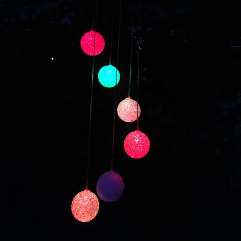 Светодиодный светильник на солнечных батареях с бабочкой, подвесным фонариком для сада, Рождества, свадьбы