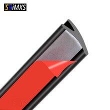 Samochodowe paski uszczelniające Y kształt okna szczelina uszczelniająca wodoodporny odporny na kurz izolacja akustyczna uszczelniona taśma gumowe uszczelnienie przedniej szyby do samochodu