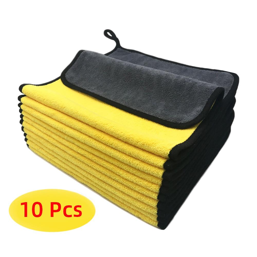 Полотенце из микрофибры, салфетка из микрофибры для мытья автомобиля, салфетка для мытья автомобиля, полотенце для Сушки автомобиля