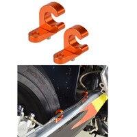 H2CNC задний тормозной кабель зажим держатель Шланг Для KTM 125 200 250 300 360 380 400 450 520 525 620 625 EGS EXC EXE SXS MXC XCW