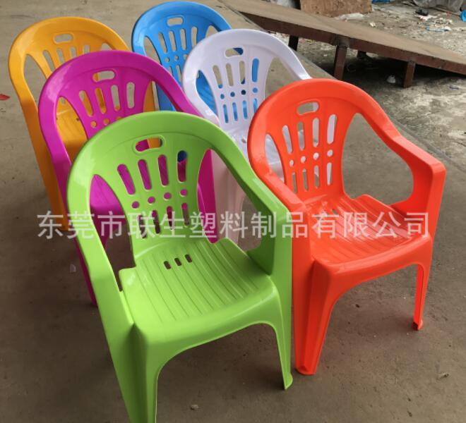 Wholesale Thicken PP Beach Chair Outdoor leisure back-rest chair Garden chairs