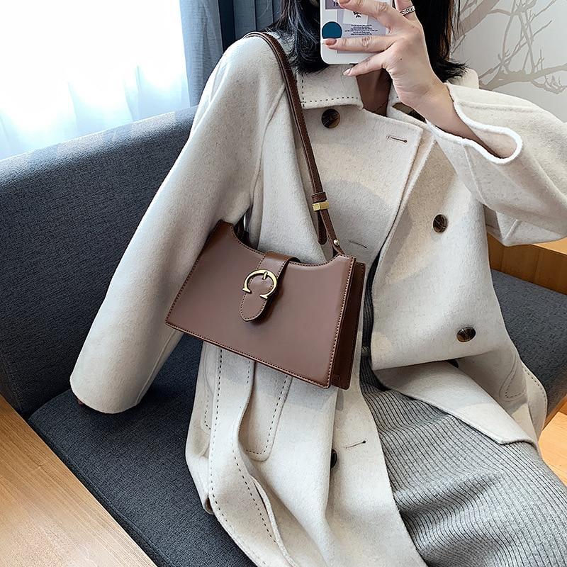 Женские Ретро сумки 2020 осень новая Корейская версия текстурная