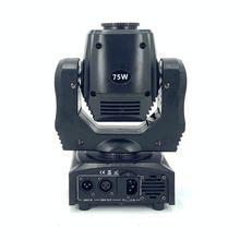75w led ponto movendo a cabeça luz 65w dj feixe luzes ponto luz com gobo & cor roda disco djs equipmentnt