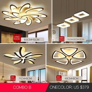 Image 3 - Led Chandelier for living room dining room study room bedroom lamp creative light modern simple decoration