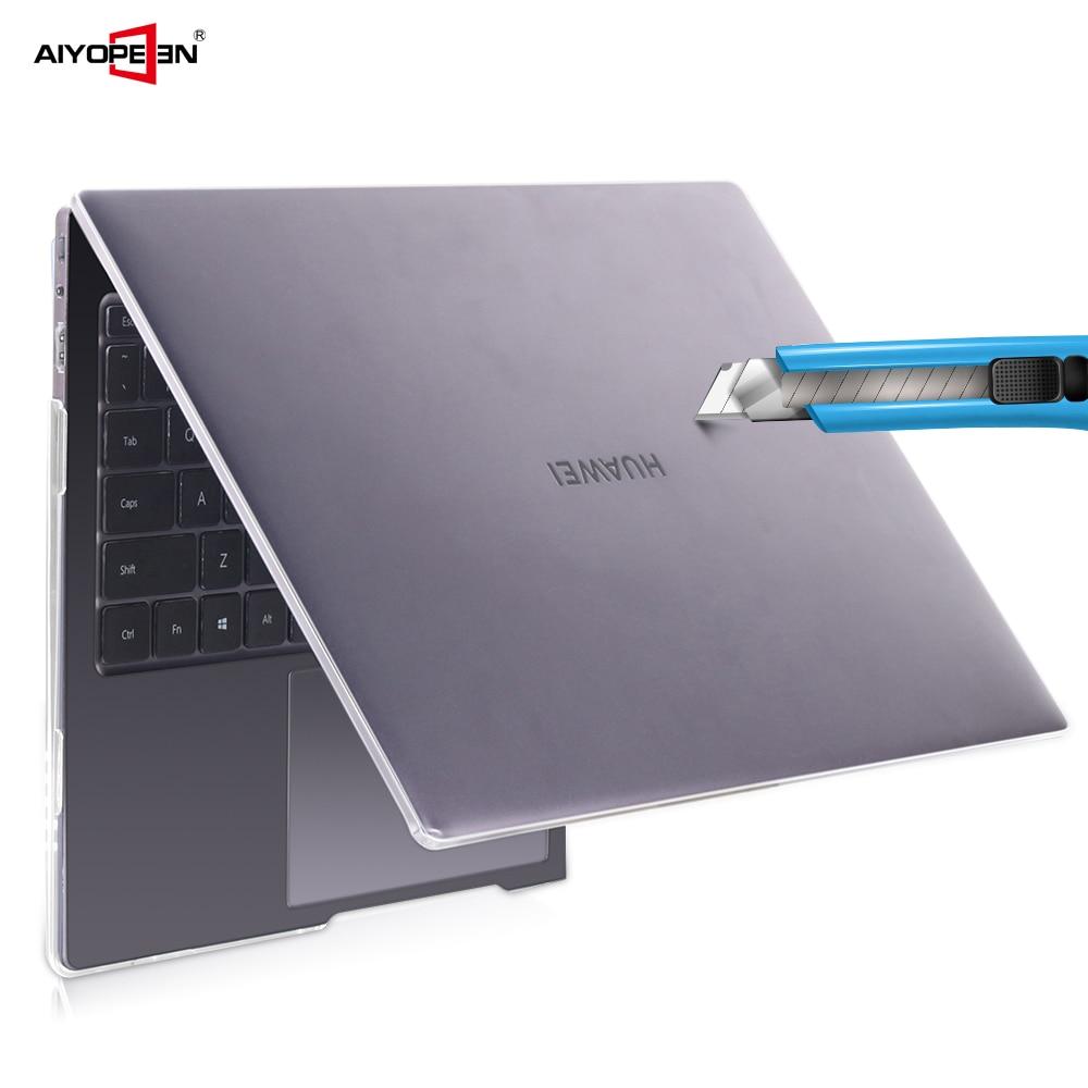 Caso Laptop PC duro para Huawei Livro DE Mate x pro 13.9 2019, saco Do Portátil transparente Capa para Livro de mate 13 14 Shell capa protetora