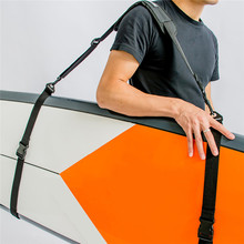 Prancha de surf ajustável ombro carry sling stand up paddleboard cinta sup board barbatanas paddle wakeboard surf kayak unisex(China)