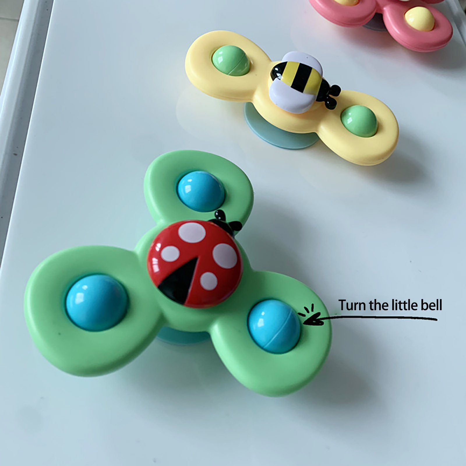 Fidget-Spinner-Toys Spinning-Games Cartoon Insect-Gyro-Toy Relief-Stress Fingertip Educational img2