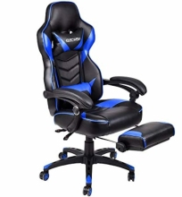 Gaming Chair Racing Style High-Back Office Chair Ergonomic Swivel Chair Pull Flat gaming office chair pc gamer racing style ergonomic comfortable leather racing gaming chair