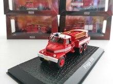 Atlas 1:76 praga v3s fogo motor liga metal diecast carros modelo veículos de brinquedo para crianças menino brinquedos presente