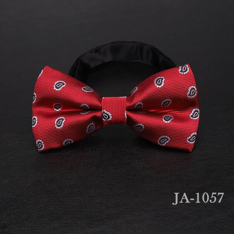 Дизайнерский галстук-бабочка, высокое качество, мода, мужская рубашка, аксессуары, темно-синий, в горошек, галстук-бабочка для свадьбы, для мужчин,, вечерние, деловые, официальные - Цвет: 1057