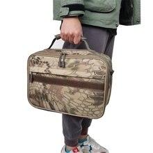 Рыболовная Сумка портативная многофункциональная рыболовная приманка катушка снасть сумка через плечо поясная сумка рюкзак для ловли карпа