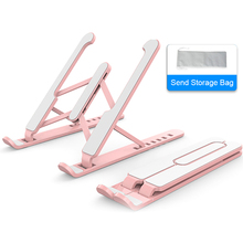 Portable Laptop Stand Foldable Support Base Notebook Stand Holder For Macbook Pro Air Lapdesk Computer Cooling Bracket Riser