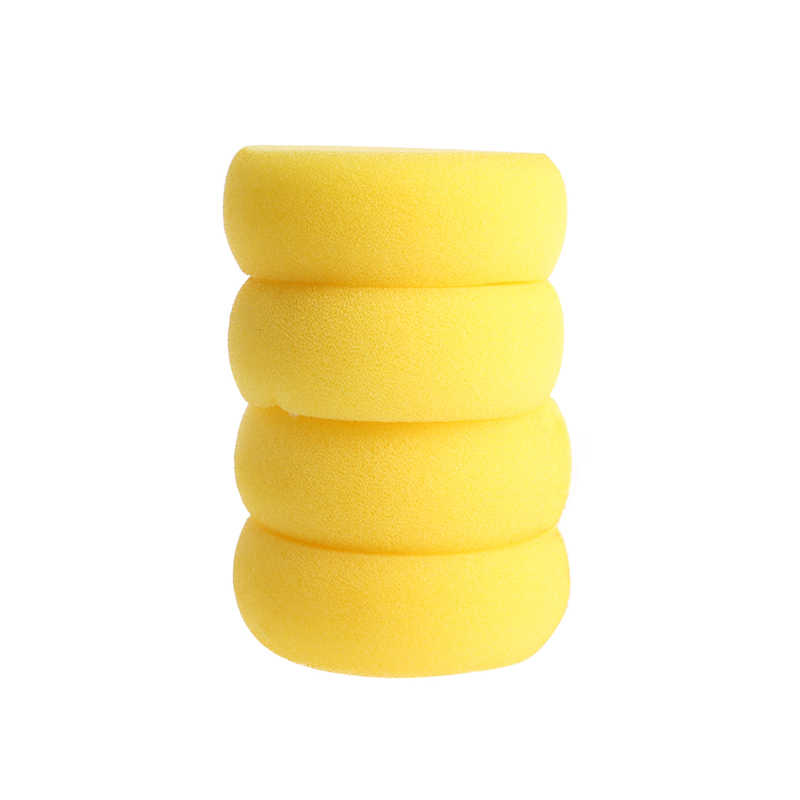 2PCS Round Painting Sponge For Art Drawing Clay Pottery SculptureCleaning ToolJB