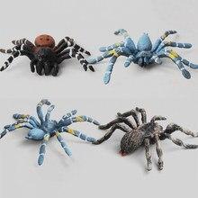 Modelo de simulación de insecto sólido, araña roja, araña negra, juguete para Halloween, el mejor regalo, gran oferta, 2020