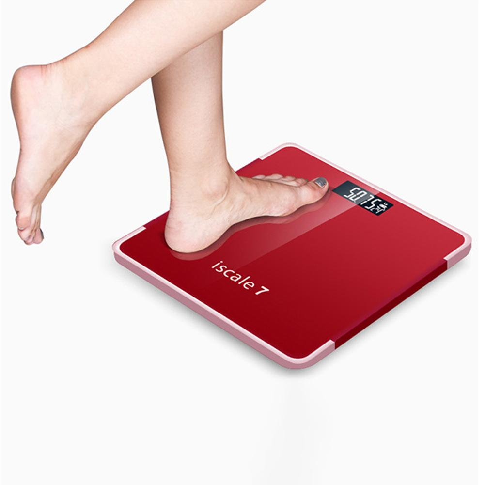 180kg Weight Scale Accurate Electronic Weight Tempered Glass Home Bathroom Floor Body Scale bascula digital peso corporal