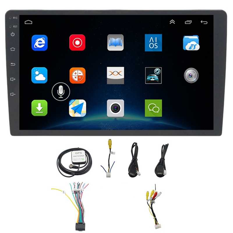 10,1 Zoll Android 8.1 Auto Bluetooth Wifi Gps Navigation Quad-Core Radio Video Audio Multimedia Mp5 Player