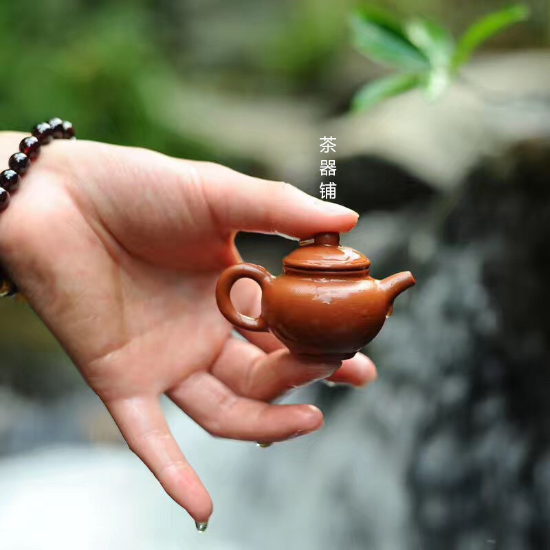 Tea Pet Furnishing Goods Can Raise Zisha Pot Small Fingertip Pot Tea Play Kung Fu Tea Set Decoration Home Decor Mini Tea Set