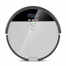 ILIFE Robot-Vacuum-Cleaner Navigation Water-Tank Cleaning Household Schedule Sweep--Wet