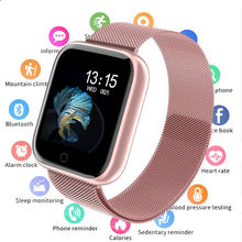 2019 Women Waterproof Smart Watch P70 P68 Bluetooth 4.0 Smartwatch For Apple IPhone xiaomi LG Heart Rate Monitor Fitness Tracker(China)