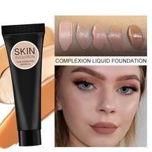 Face Liquid Foundation Natural Brighten Base Makeup Long Concealer Face Whitening Cream Lasting BB Foundation Y3Y1 natural face bb cream foundation for wrinkles brighten base face cream korean cosmetics moisturizing whitening make up base