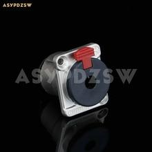 5 PCS D Type 6.35mm Stereo Headphone Jack 635 3-Core Headphone female socket