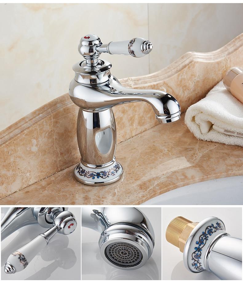 H3f7ce1975f6441dcbbe644550bb70718y MOLI Bathroom Sink Faucet Gold Basin Single handle Faucets Diamond Water Mixer Crane Hot Cold Chrome Bath Brass Mixer Tap ML201