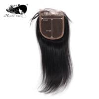 Mocha Hair 4X 4 Lace Closure Brazilian Virgin Straight Hair Free Part 8inch 18inch