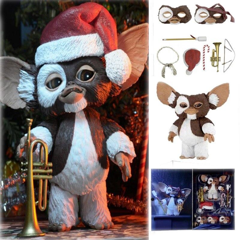 12 cm/4.8 pouces Original NECA nouveau film Gremlins édition de noël Gremlins figurine modèle jouets poupée pour cadeau